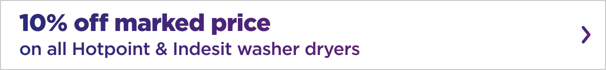 Washer Dryer Promotion
