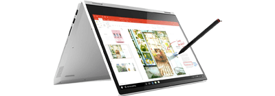 A Lenovo tablet