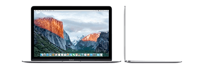 Save £150 on selected 12'' Macbooks