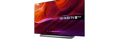 Up to £100 off marked price on selected TVs