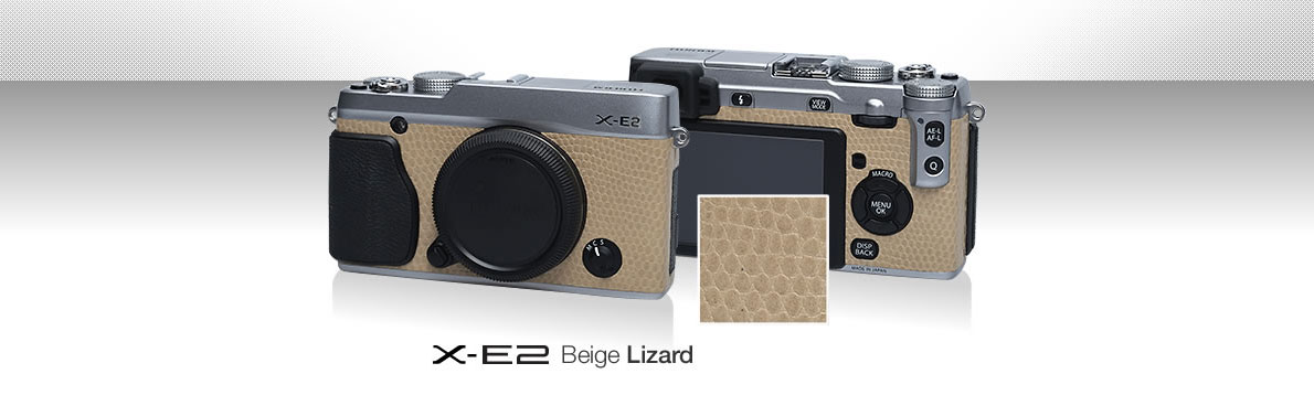 X-E2 Beige Lizard