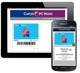 Currys Gift Card Balance >> Gift Vouchers Currys