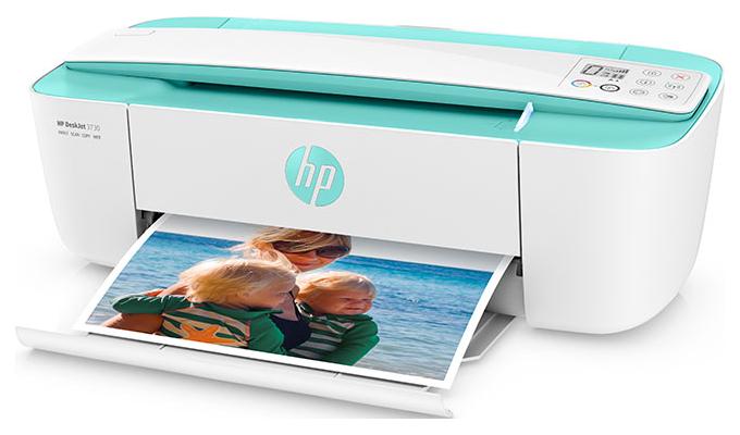 HP DeskJet 3730 Printer - Compact and wireless