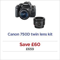 Canon 1300D twin lens kit