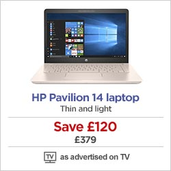 HP Pavilion 14 laptop