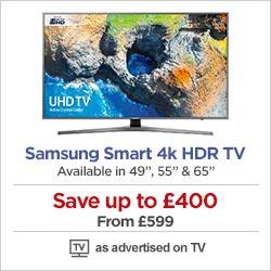 Samsung Smart 4k HDR TVs