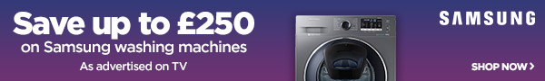 Save on Samsung washing machines