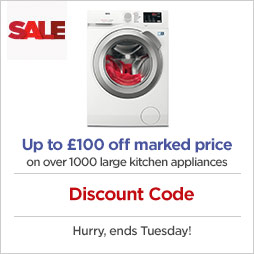 Discount Code on large kitchen appliances