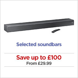 Save on soundbars