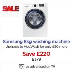 Samsung 8kg Ecobubble washing machine