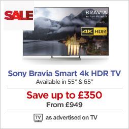 Sony Bravia Smart 4k Ultra HD HDR TVs
