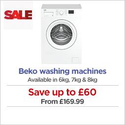 Beko washing machines