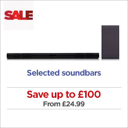 Save on selected soundbars