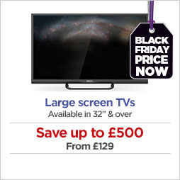 Save on large screen TVs