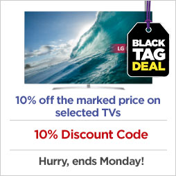 Up to £200 off the marked price on TVs £1000 and over
