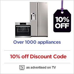 10% off marked price on 1000s of kitchen appliances