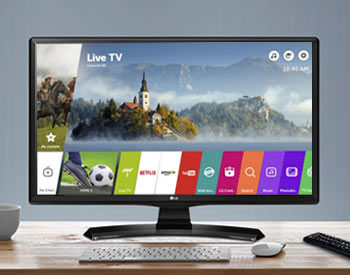 LG Smart TV with Freeview Play