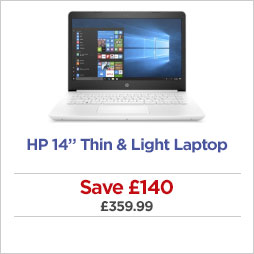 HP thin and light laptops