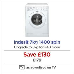 Indesit 7kg washing machine
