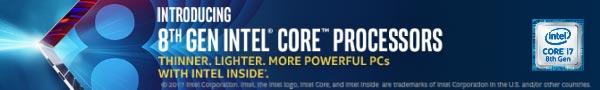 Intel 8th Gen processors