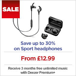 Save up to 30% on Sport headphones