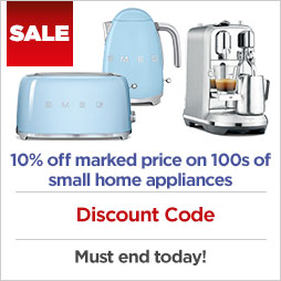 Discount Code on small appliances