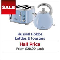 Russell Hobbs kettles & toasters