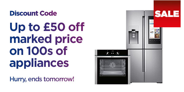Save on large kitchen appliances