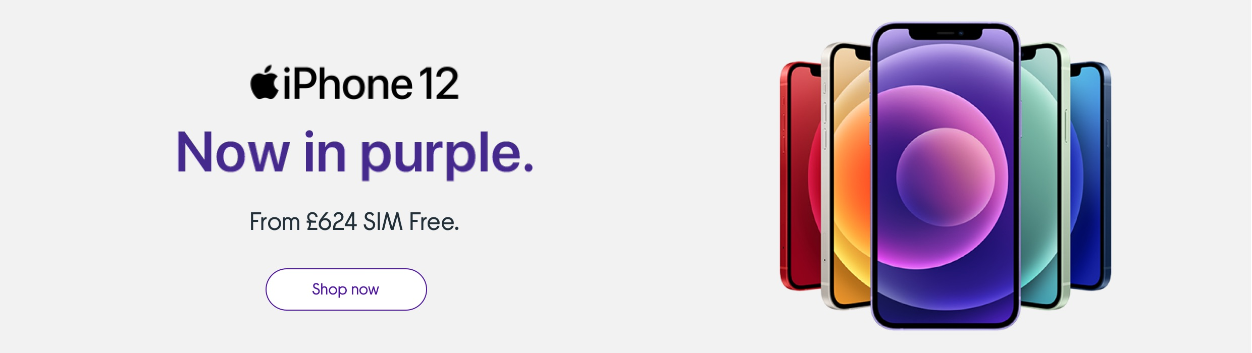 iPhone 12 now in purple.