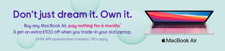 Buy any MacBook Air