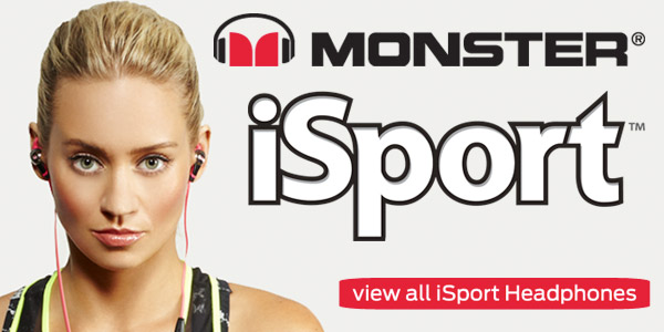 Monster iSport Headphones Kimberly Wyatts essential workout partner