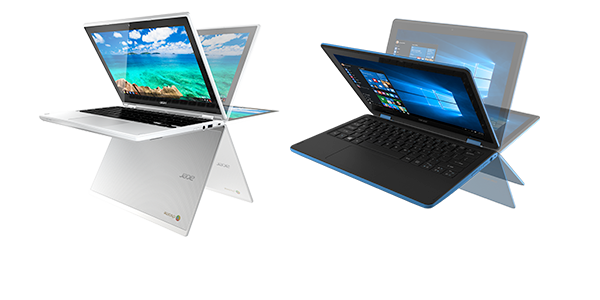 Acer Notebooks and Chromebooks