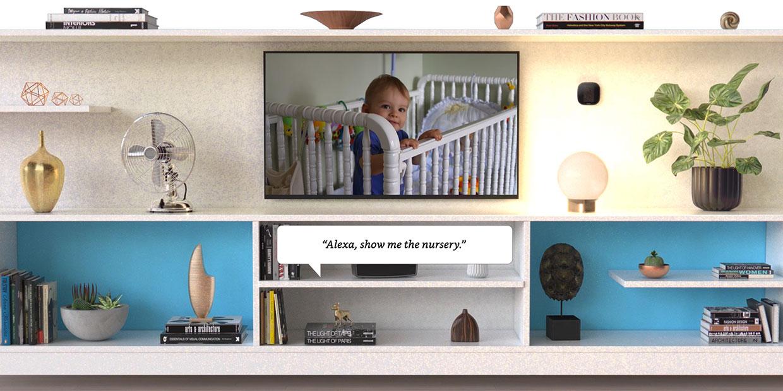 Alexa baby nursery image