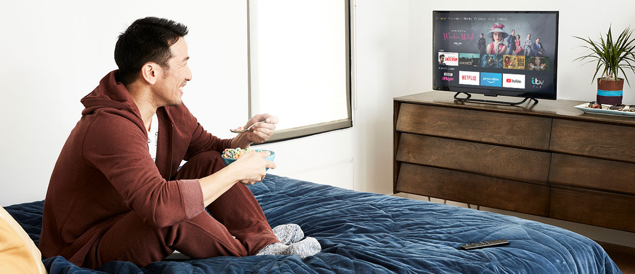 take your tv with you