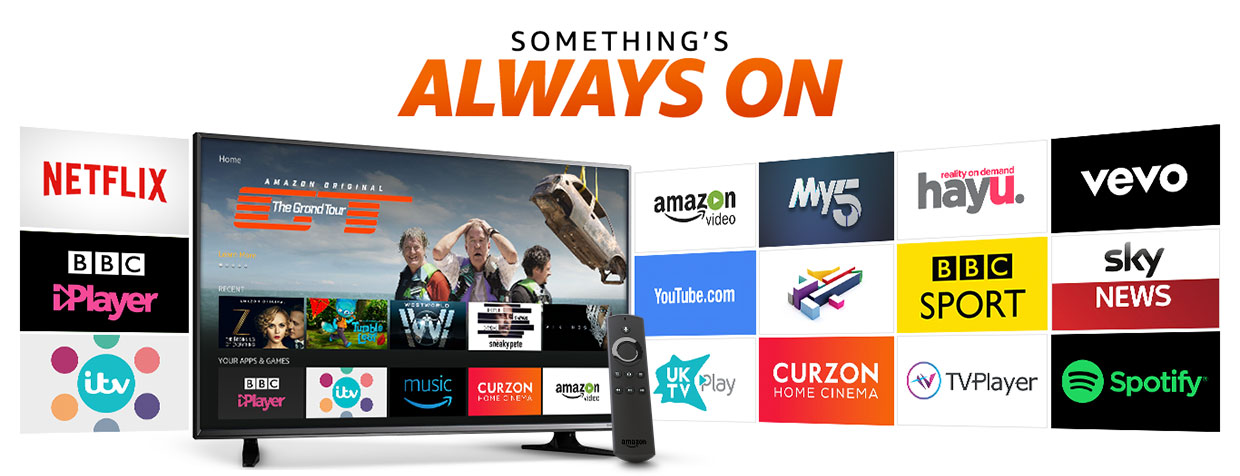 Amazon Fire TV Stick apps