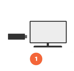 Amazon Fire TV Stick set up step 1
