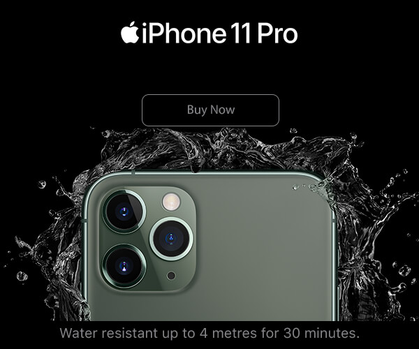 New iPhone 11 Pro