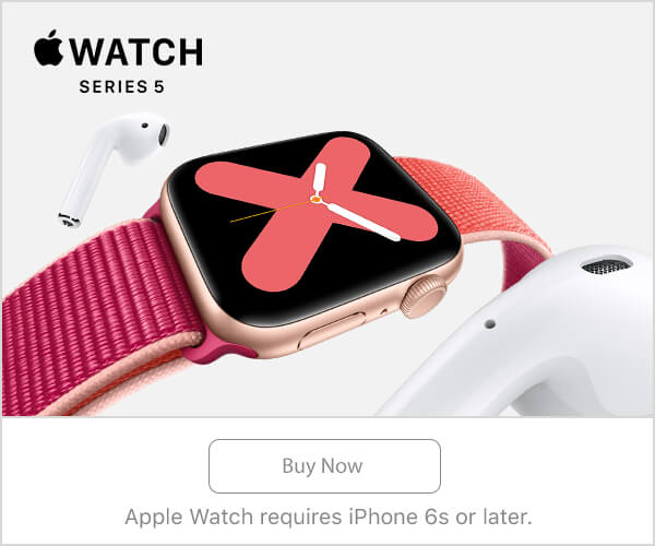New Apple Watch series 5