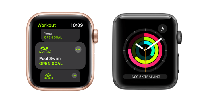 Image of Apple watch workout features