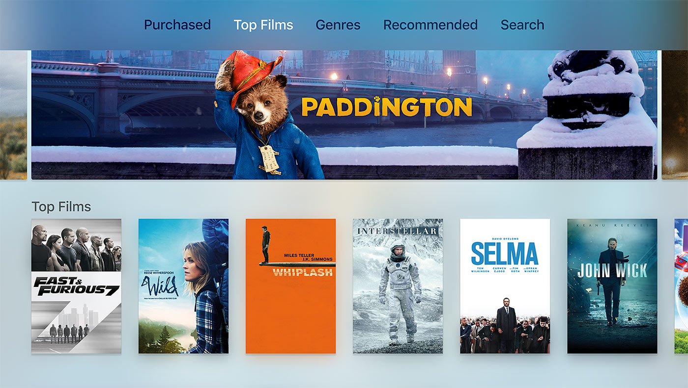 Apple TV Top Films