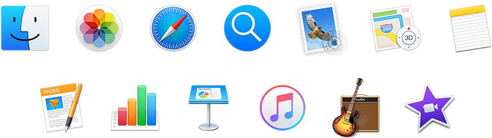 iMac apps