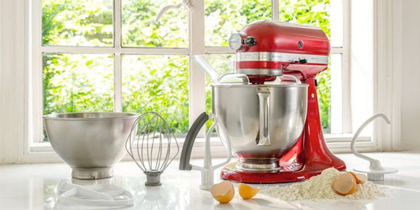 KitchenAid Artisan stand mixers - 12 months interest free