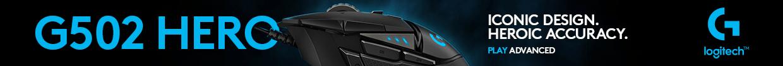 Logitech hero gaming mouse