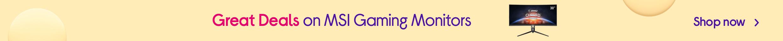 MSI Gaming Monitors