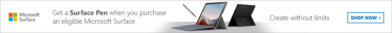 Microsoft Surface free pen