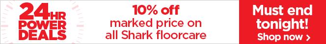 10% off Shark floorcare