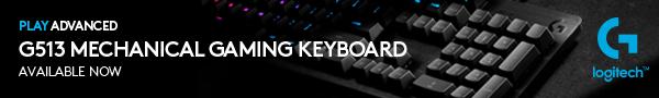 Logitech G513 Mechanical gaming Keyboard