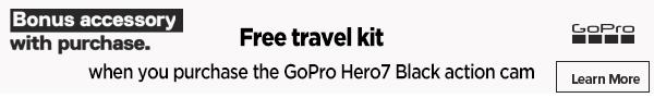 GoPro free travel kit