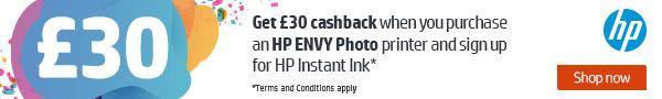 hp instant ink cashback