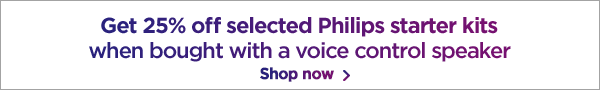 Philips lighting and voice control deals